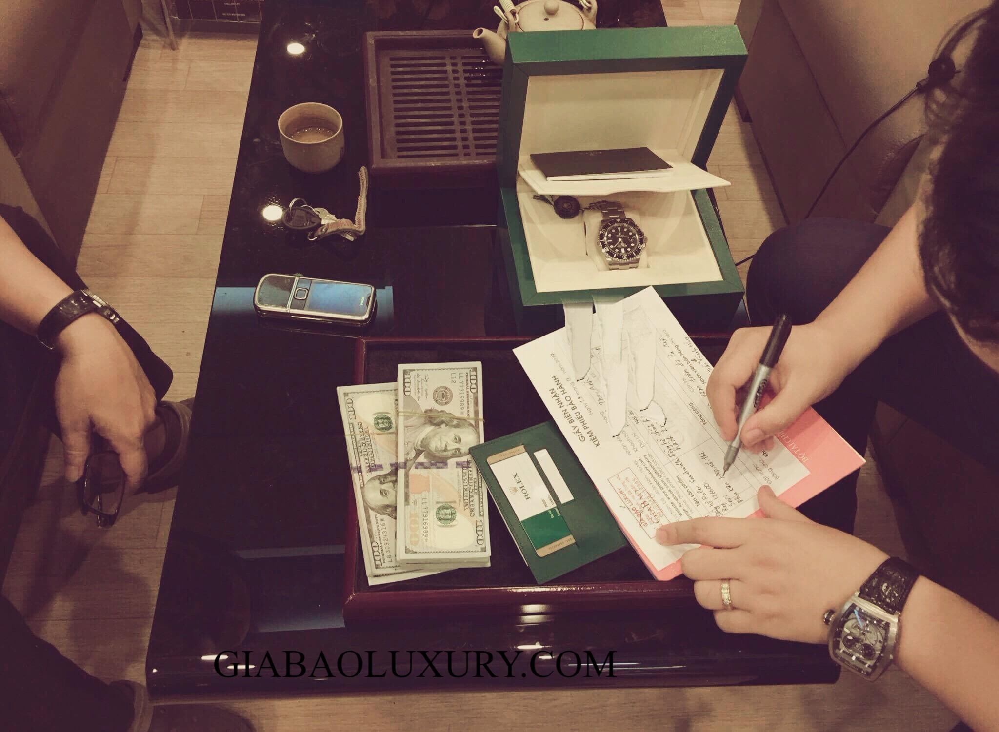 Giao dịch thu mua đồng hồ Bvlgari tại Gia Bảo Luxury