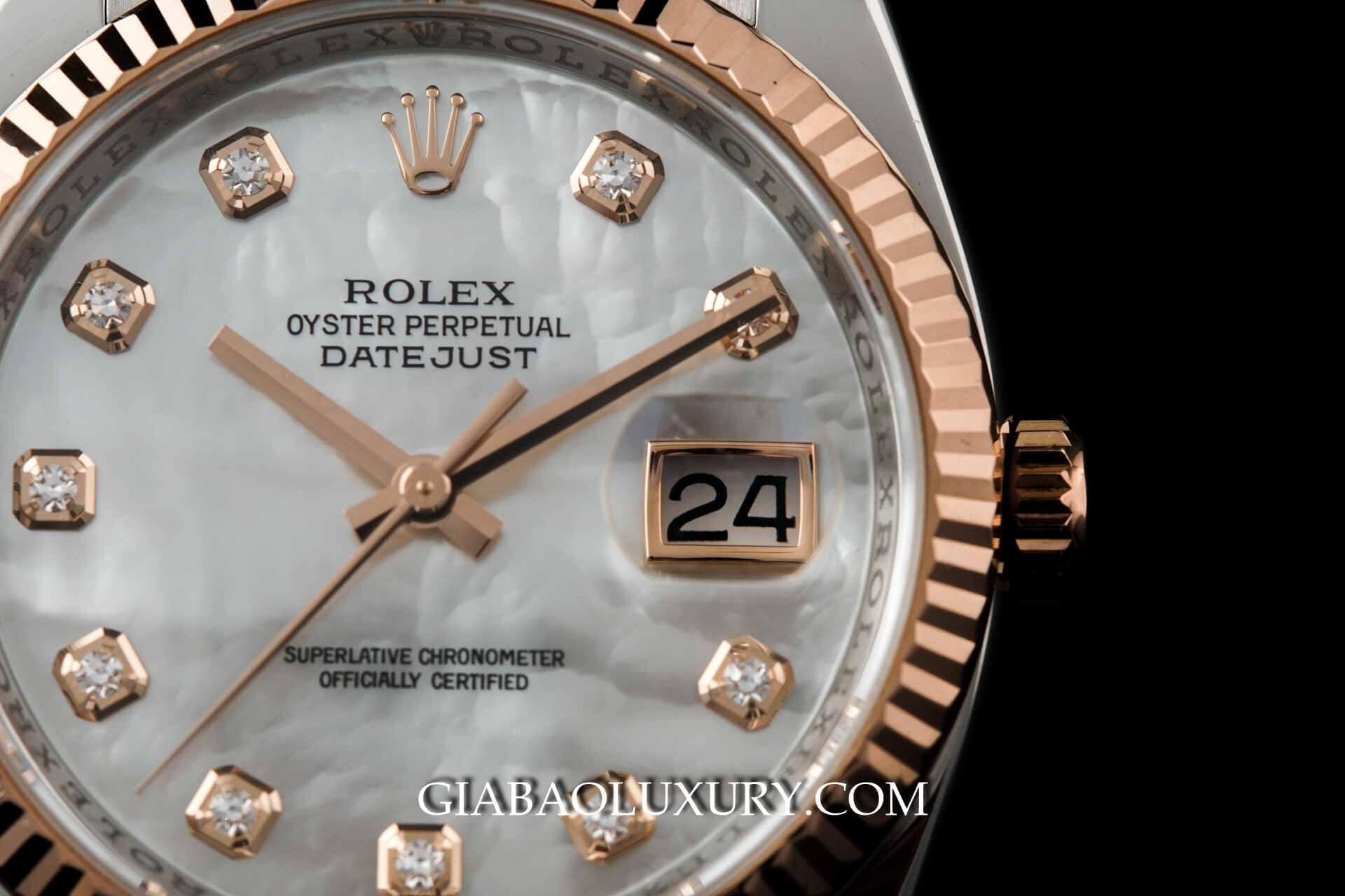 Một mẫu đồng hồ Rolex chính hãng