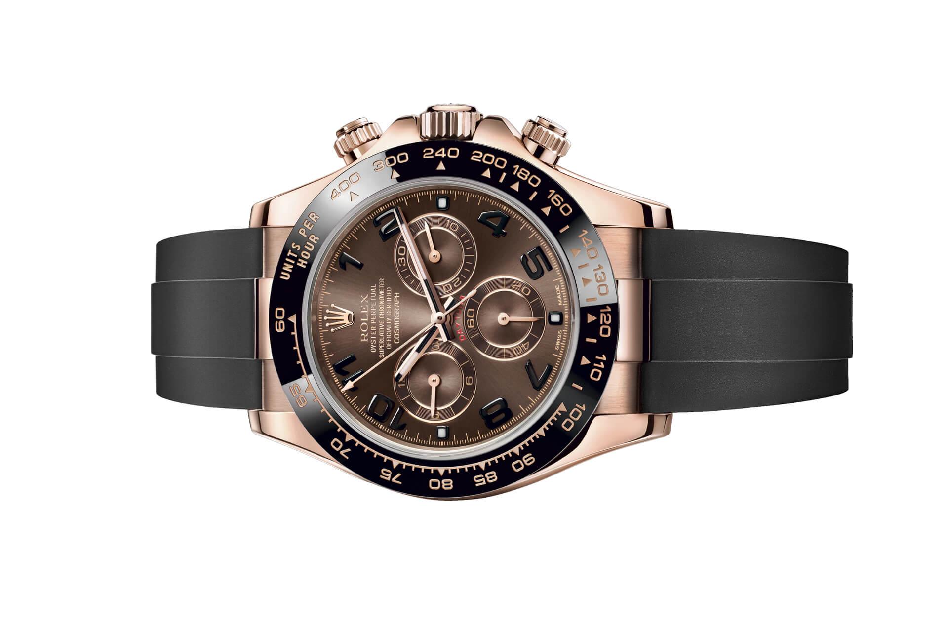 Phiên bản đồng hồ  Rolex Cosmograph Daytona 116515 mặt số Chocolate