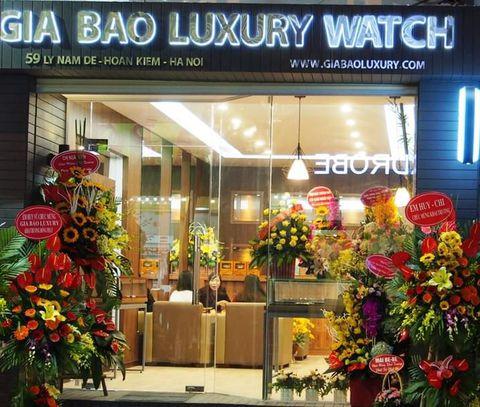 Cửa hàng Gia Bảo Luxury tại 59 Lý Nam Đế, Hoàn Kiếm, Hà Nội - địa chỉ thu mua đồng hồ Rolex cũ tốt nhất hiện nay