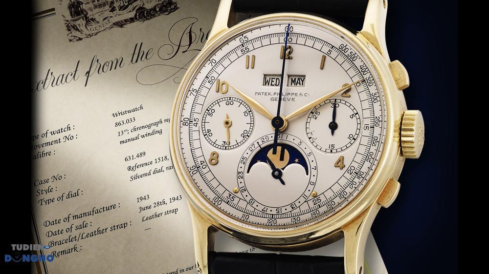Mua đồng hồ Patek Philippe cũ giúp bạn tiết kiệm tài chính, thỏa mãn đam mê