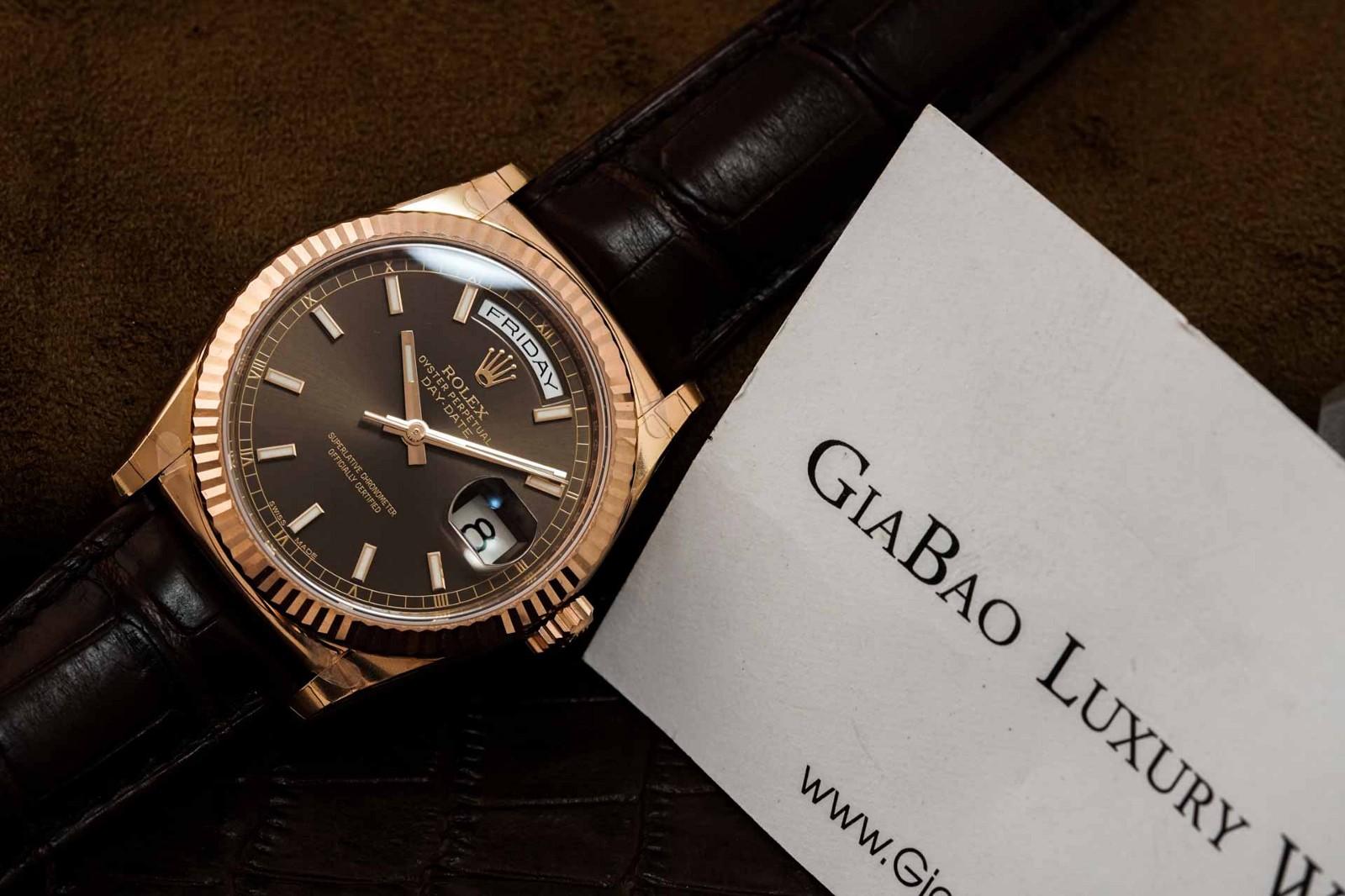 Gia Bảo Luxury - Địa chỉ cung cấp đồng hồ Rolex chính hãng uy tín