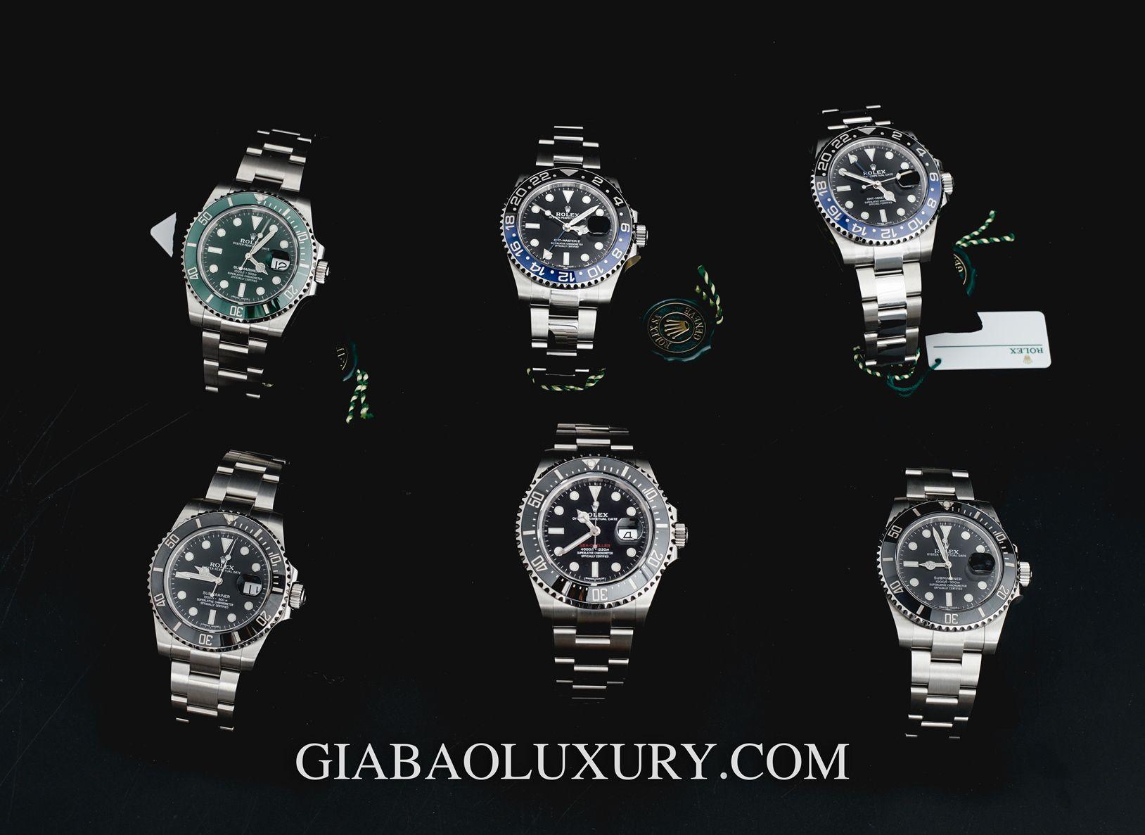 Một số mẫu đồng hồ Rolex cao cấp chính hãng có sẵn tại Gia Bảo Luxury