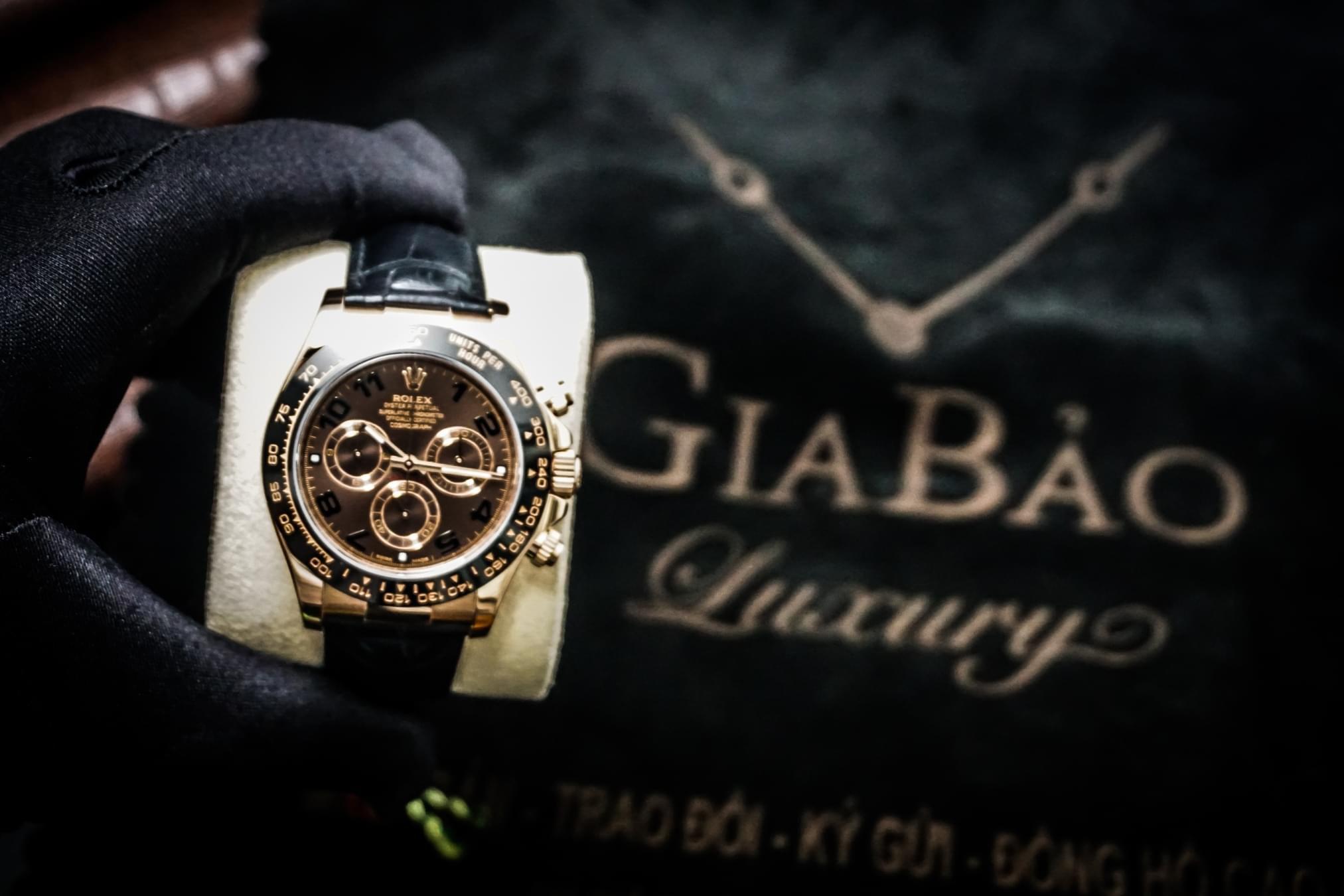 Gia Bảo Luxury - Đơn vị kinh doanh đồng hồ Rolex  Cosmograph Daytona 116515  chính hãng hàng đầu Việt Nam