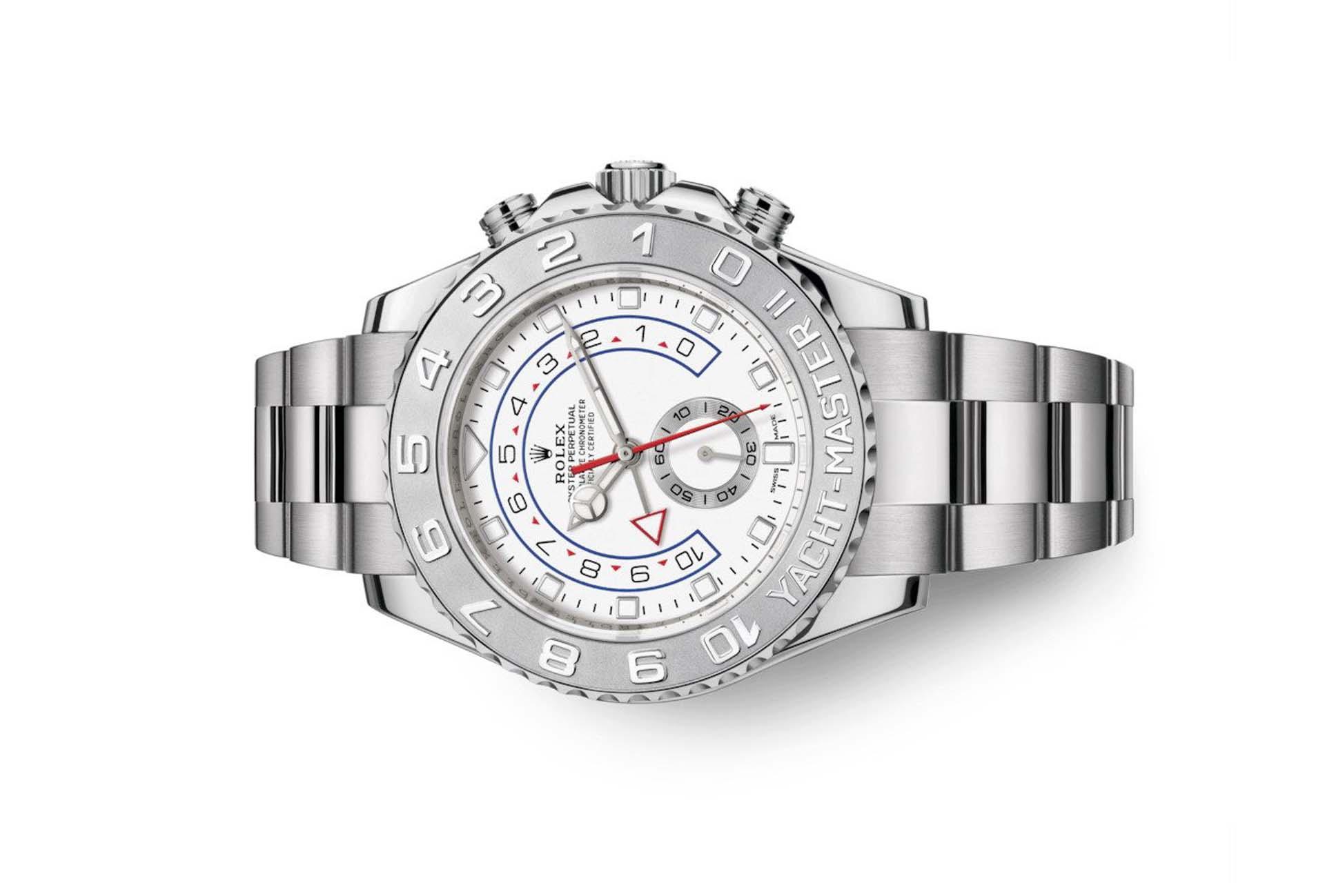 Đồng hồ Rolex Yacht-Master II 116689-0002 Mặt Số Trắng