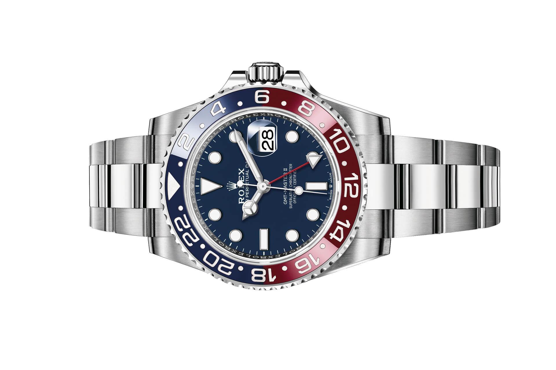 Vẻ đẹp khó cưỡng của phiên bản đồng hồ Rolex GMT-Master