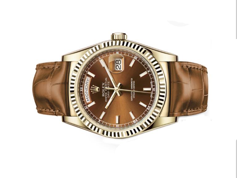 Phiên bản đồng hồ Rolex Day - Date 118138 tại Gia Bảo Luxury