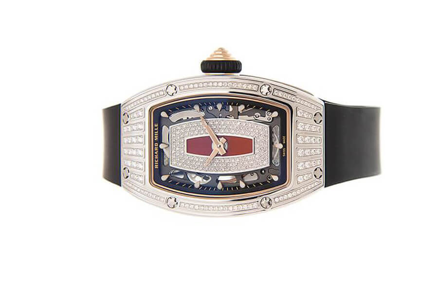 Đồng hồ Richard Mille RM 07-01 Automatic Ladies Vàng Trắng Đính Kim Cương