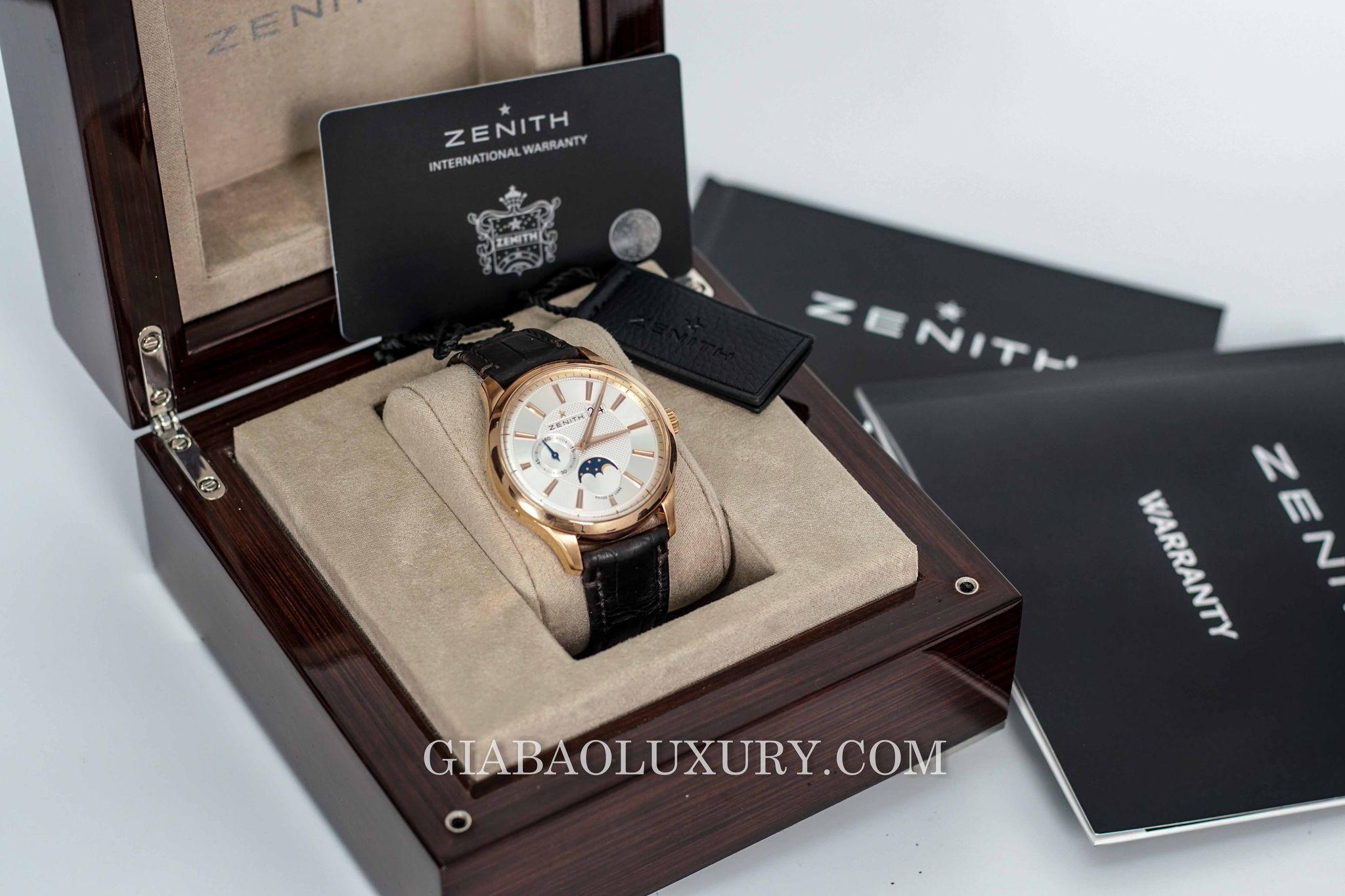 Giá trị của chiếc đồng hồ Zenith chính hãng đã qua sử dụng có thể tăng từ 20% - 50% khi nó có đầy đủ hộp và giấy tờ kèm theo chứng minh đây là hàng chính hãng