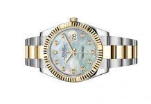 Đồng hồ Rolex Datejust 41 Mặt Số Khảm Trai Trắng