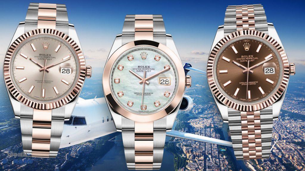 Các phiên bản đồng hồ Datejust dây đeo Oyster độc đáo được nhiều người ưa chuộng