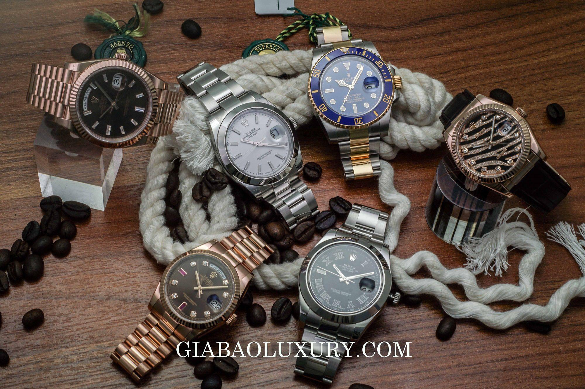 Gia Bảo Luxury thu mua đồng hồ Rolex Datejust chính hãng