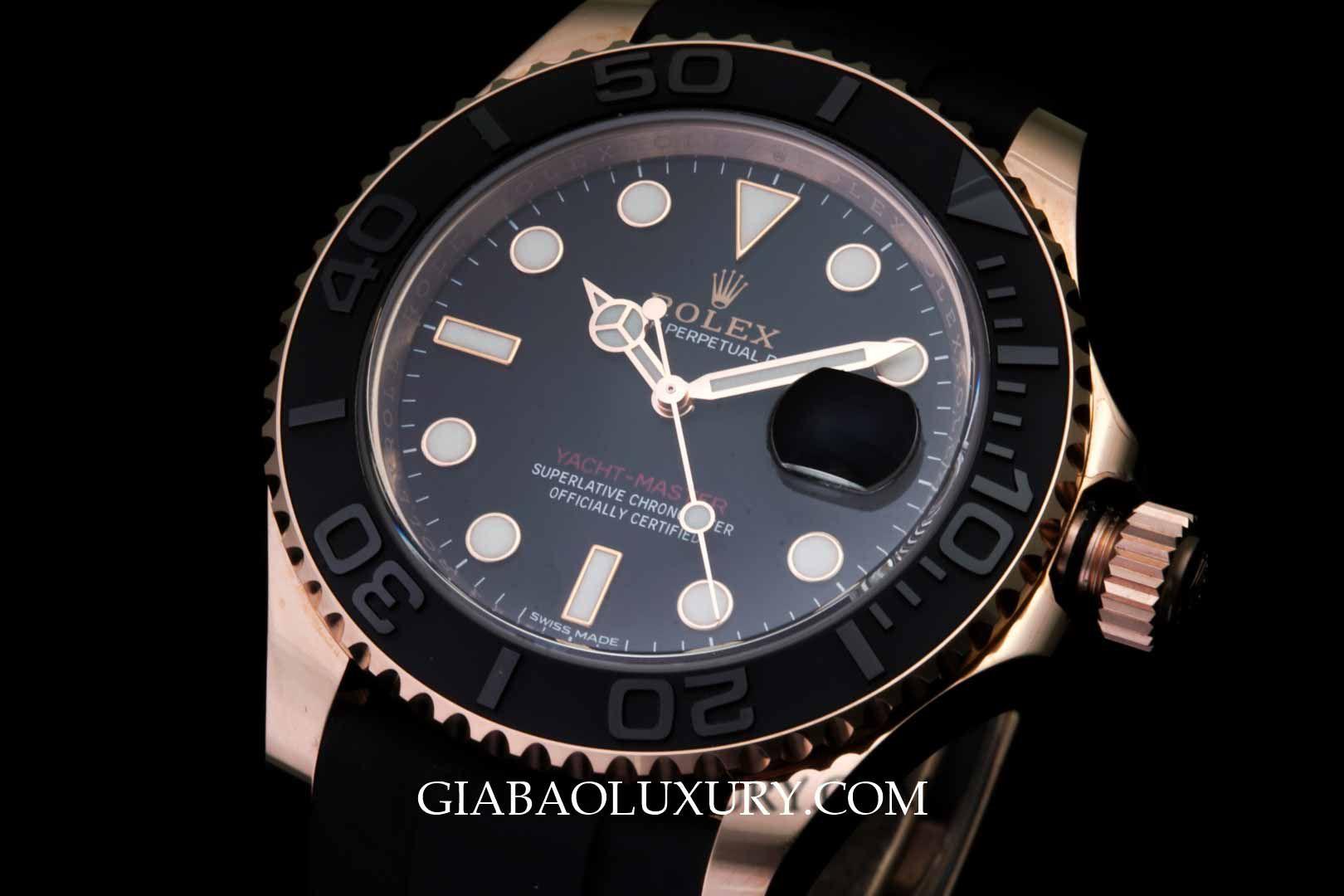 Thu mua đồng hồ Rolex Yacht Master tại Gia Bảo Luxury