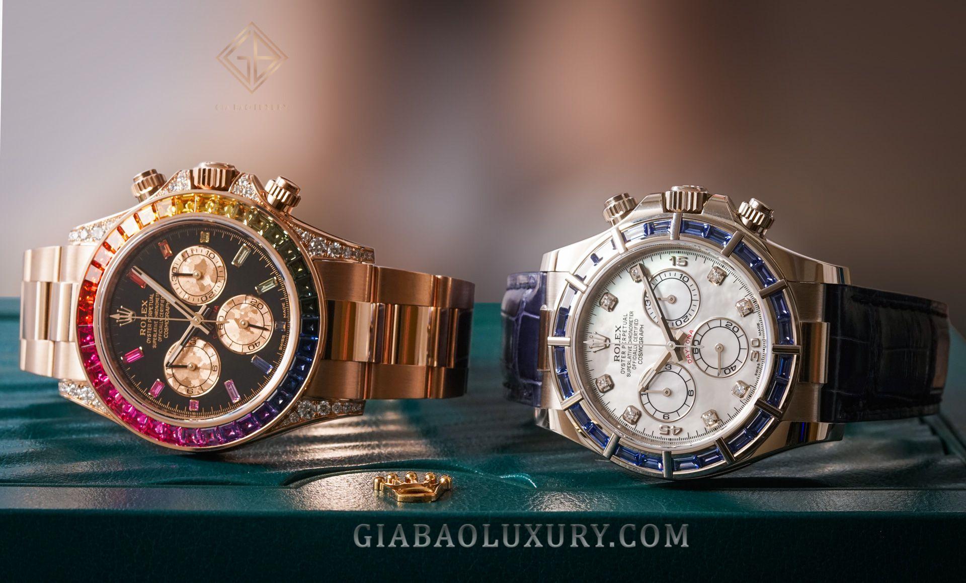 Gia Bảo Luxury thu mua đồng hồ Rolex Cosmograph Daytona chính hãng