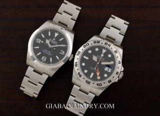 Gia Bảo Luxury thu mua đồng hồ Rolex Explorer chính hãng