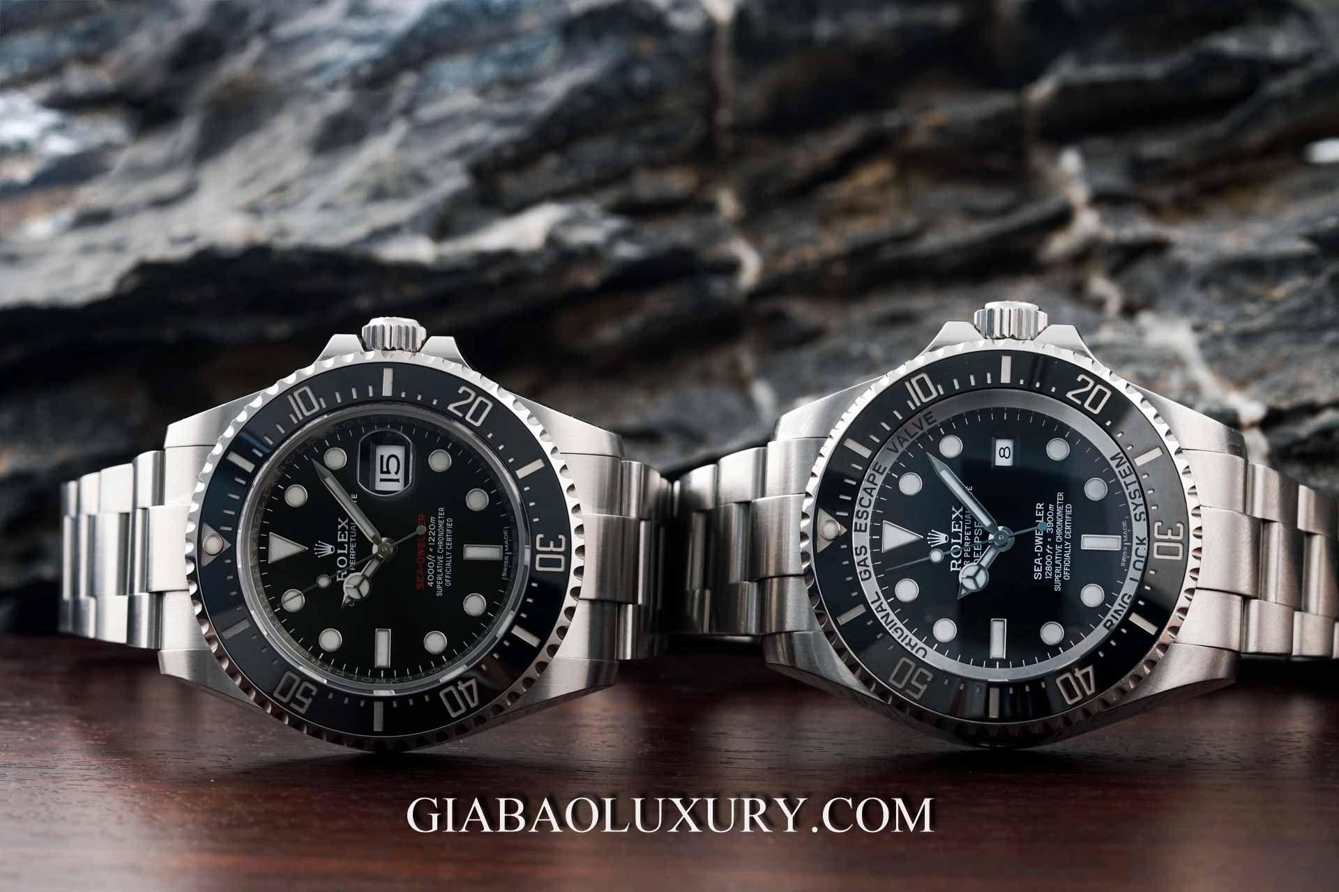 Gia Bảo Luxury thu mua đồng hồ Rolex Sea-Dweller chính hãng