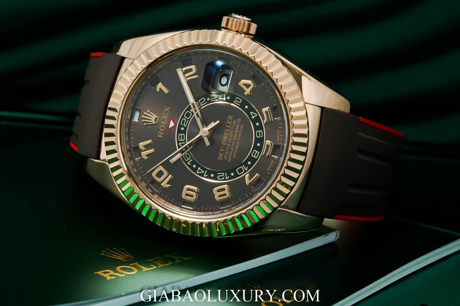 Thu mua đồng hồ Rolex Sky-Dweller