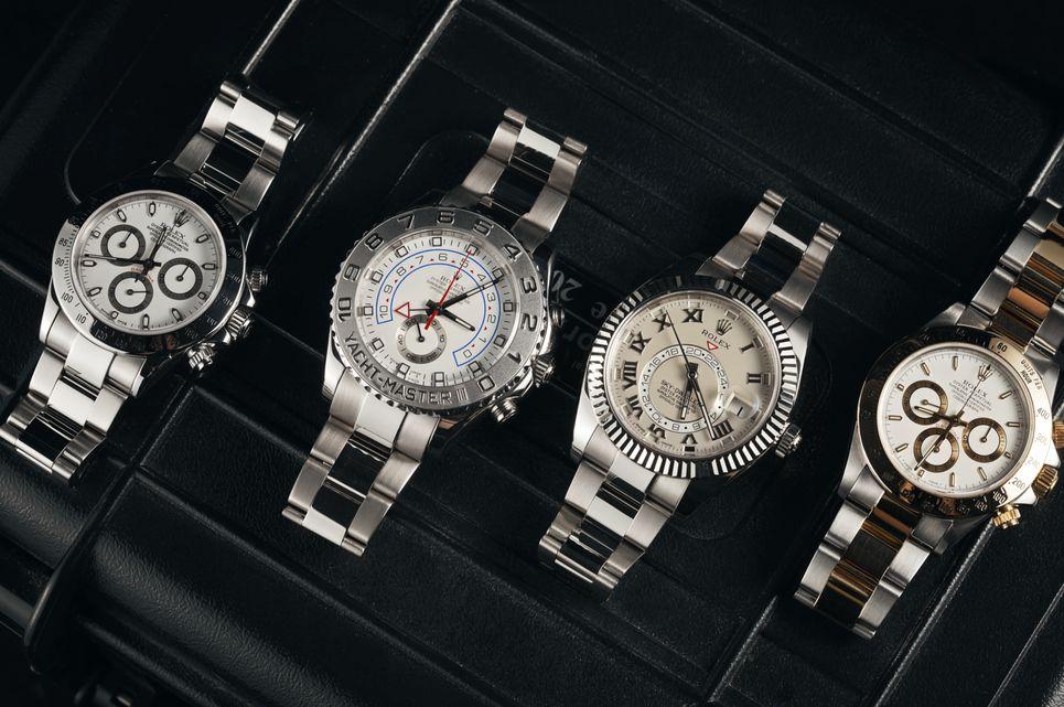 Đồng hồ Rolex có giá bán cao trên thị trường