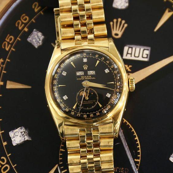 """Phiên bản đồng hồ Rolex """"vua Bảo Đại"""" ref. 6062 ref."""