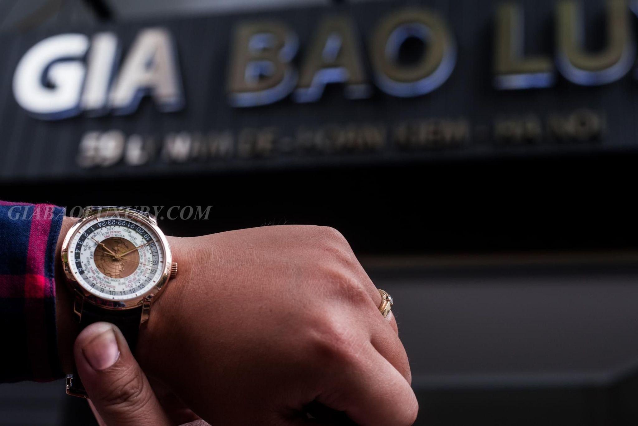 Thu mua đồng hồVacheron Constantin Traditionnelle World Time chính hãng tại Gia Bảo Luxury