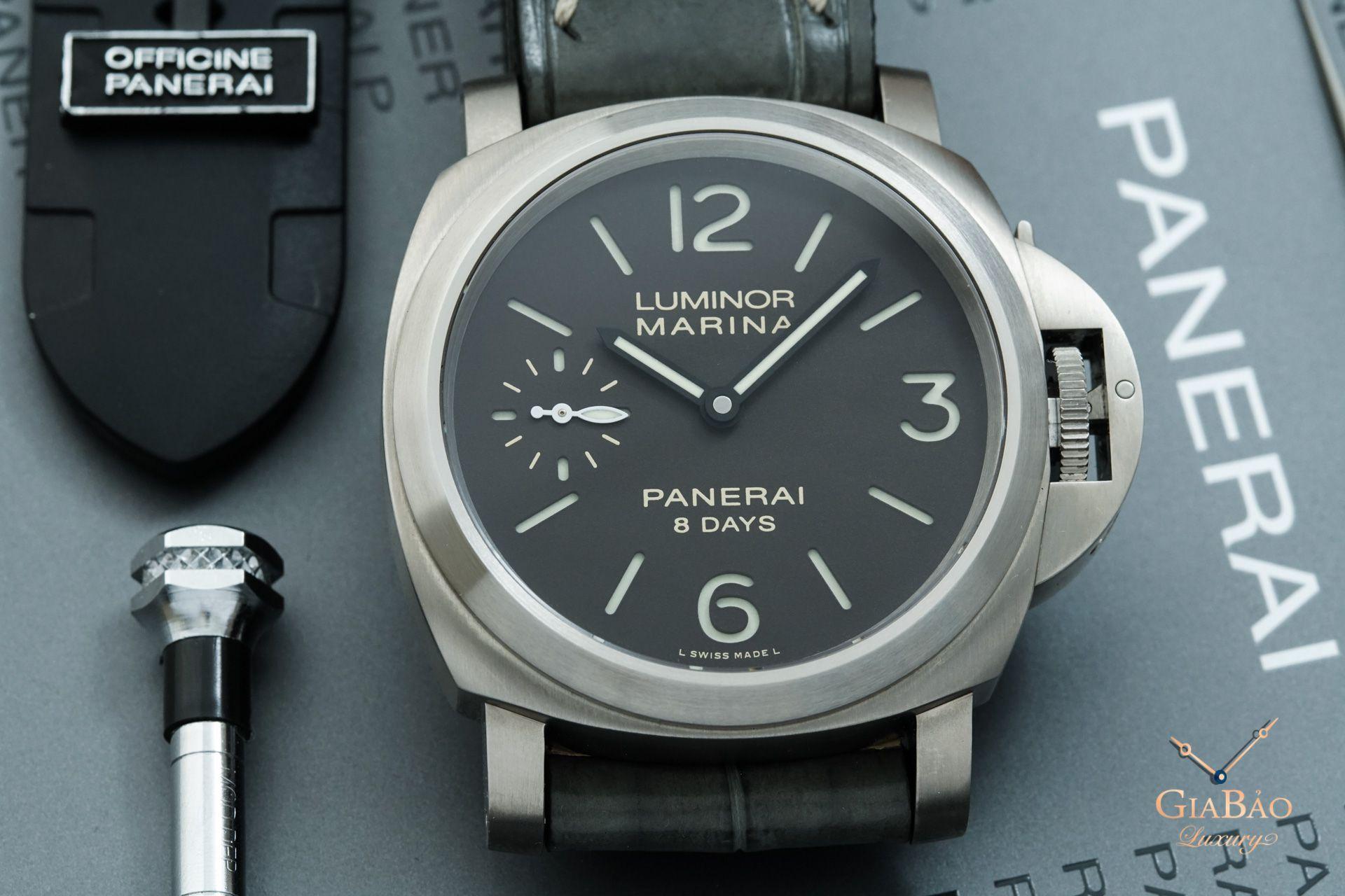 Với thiết kế chắc chắn cùng tính chính xác ưu việt, trong thế kỷ trước, Panerai chính là thương hiệu cung cấp đồng hồ tính thời gian hàng đầu cho Hải quân hoàng gia Ý