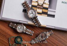 Đồng Hồ Rolex Lady Datejust 279171 Mặt Số Vỏ Trai Trắng