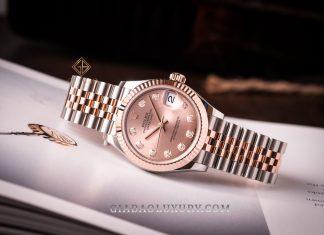 Đồng Hồ Rolex Datejust 31 278271 Mặt Số Hồng Nạm Kim Cương