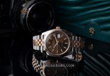 Đồng Hồ Rolex Datejust 41 126331 Mặt Số Chocolate Cọc Số Dạ Quang