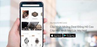 App Gia Bao - Ứng dụng cho phép khách hàng lên tay đồng hồ ngay tại nhà